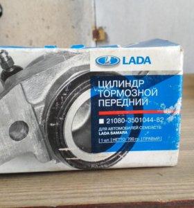 Цилиндр тормозной передний левый на ВАЗ 2108-2115