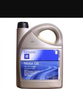 Масло GM Dexos 2 5-30 5 литров