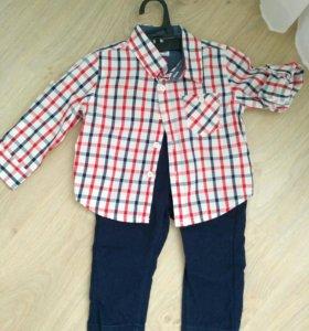 Комлект рубашка брюки