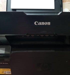 Принтер цветной canon