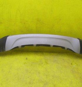 Юбка переднего бампера BMW X6 F16 (14-н.в.)