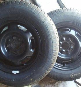 колёса 175/70. 13 радиус. 4 шт