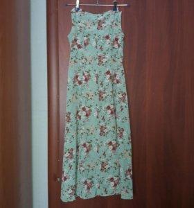 Новые 10-12 лет платье сарафан