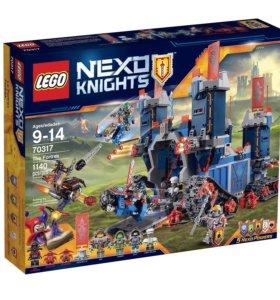 лего Nexo knights мобильная крепость фортрекс