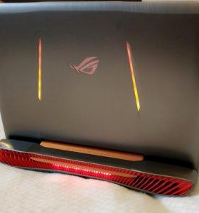 игровой ноутбук ASUS G752VS с gtx 1070