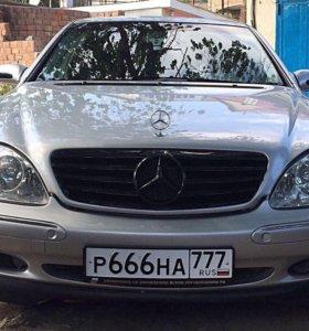 Mercedes-Benz S-Класс, 2000