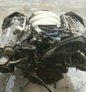 двигатель в сборе ауди