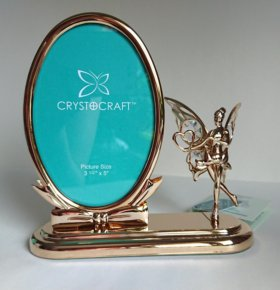 Фоторамка настольная Crystocraft Волшебная фея
