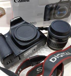 Canon eos 30d 18-55 полный комплект