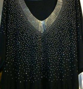 Блузка новая нарядная 54-56 размер.