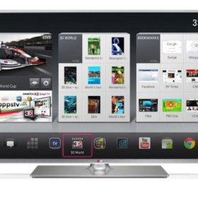 3D smart TV LG 32 LB 650v