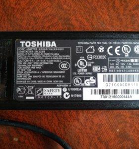 Зарядное устройство для ноутбука Toshiba.