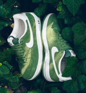 Кроссовки Nike Air Force 1 '07 Green White р.37-40