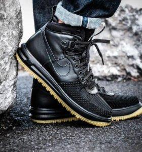 Кроссовки Nike Lunar Force 1 Duckboot Black 41-45