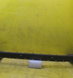 Юбка заднего бампера Volvo XC90 1 (06-14)