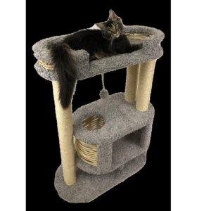 Домик комплекс для кошки, когтеточка
