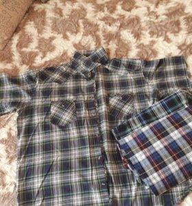 Рубашка мужская (большимерная)