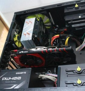 Игровой ПК Core i5-4570 8ГБ GTX 950 2Gb 120Gb SSD