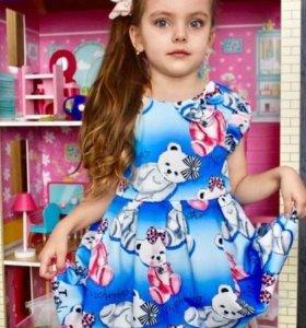 3цвета платья от Monna Lisa 90-130