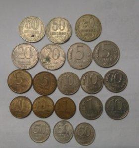 Монеты СССР,России