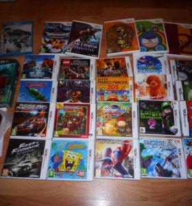 Игры Nintendo 3DS DS Wii Wii U (возм. пересылка)
