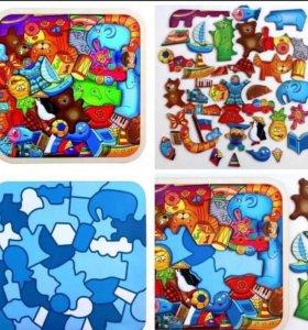 Пазл -головоломка «Игрушки»