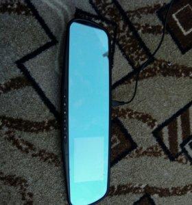Зеркало заднего вида с регистратором