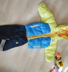 Куртка и штанишки adidas 86