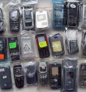 Корпуса для для Nokia, Sony Ericsson, Simens и др