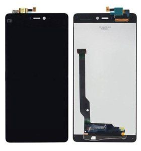 Дисплей для Xiaomi Mi 4 в сборе с тачскрином черн.