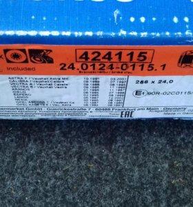 Диски тормозные ATE 24012401151 Daewoo/Chevro,Opel