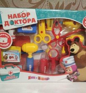 Набор доктора Маша и медведь