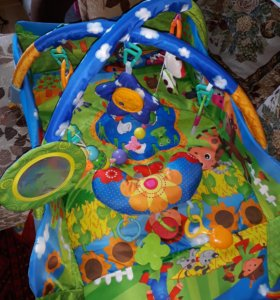 Развивающий коврик + игрушки в подарок!