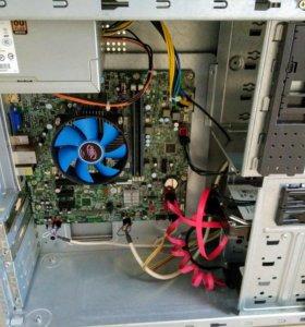 """Pentium G4400 / 8GB / SSD 120GB / HDD 750GB / 17"""""""