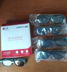 3D очки для ЖК 3D LG телевизора