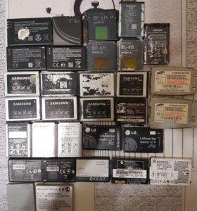 Аккумуляторы для телефона.