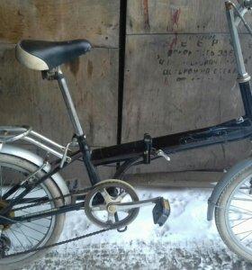 Японский складной велосипед