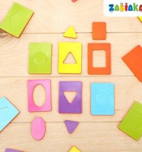 Обучающий набор «Карточки Сегена. Простые цвета»
