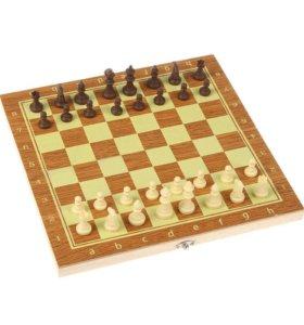 Настольная игра, набор 3в1: нарды, шахматы, шашки