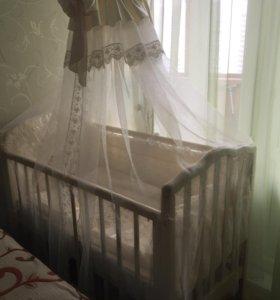 Кроватка «Жасмин» детская