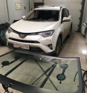 Лобовое стекло на все автомобили. Установка