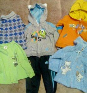 Вещи пакетом на мальчика 9-12 месяцев