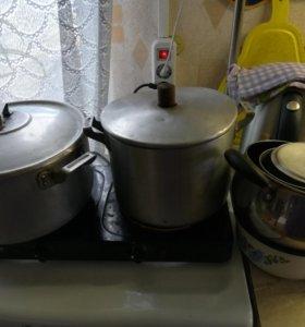 Разная посуда иинвентарь