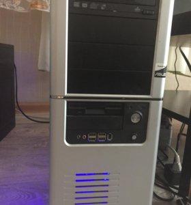 Компьютер 4 ядра по 3 ГГц, 8 гб озу