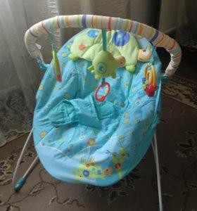 Кресло-качалка музыкальное для ребёнка