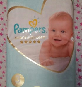 Pampers premium care 6-10кг