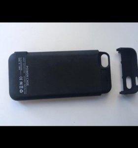 Чехол-аккумулятор iPhone 5 (s)