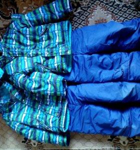 Куртка и штаны зимние . по 300р. за комплект .