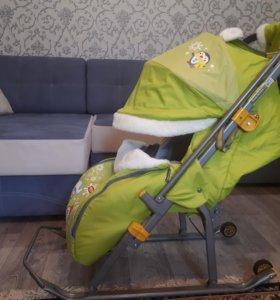 Санки-коляска Nika Детям-6
