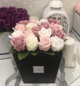 Цветы в шляпной Коробке!